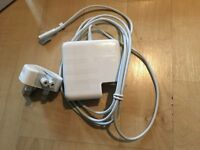 Brand New-MagSafe 1 & 2, 60W AC Adapter for Apple Macbook/ Pro 16.5V 3.65A -UK Plug,