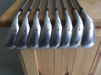 MIZUNO MX100 GRAPHITE IRON SET 4-SW £120 SAME SET CURRENTLY ON EBAY FOR £159.95