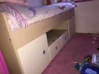 Cabin Bed with under storage