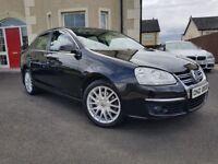 2009 Volkswagen Jetta 2.0 Tdi Sport 170 bhp Full MOT Full Service History 124k not golf passat a4 a3