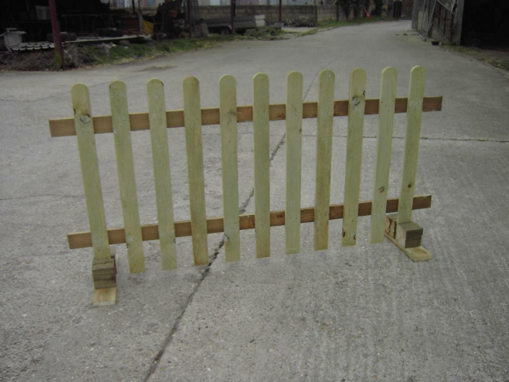 No Post Picket Fence Ideal Events Amp Shows Moveable Free