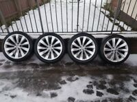 "18"" genuine vw scirocco alloys"