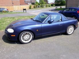 Years MOT. Hard and soft top. New brake pads and front anti roll bar links fitted. Great drive.