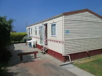 3 Bed Caravan with enclosed patio area for rent / hire at Craig Tara - Aug dates still available