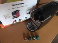Pixie krups nespresso coffe machine with box