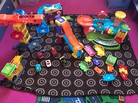 Vtech toot toot drivers bundle with 5 cars