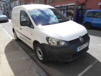 2012 VW CADDY 16TDI C20 PLUS YEAR MOT EURO 5 ELECTRIC PACK VGC