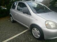 TOYOTA YARIS AUTOMATIC 1LADY OWNER MOT TILL 30/07/2017 62850 WARRANTED MILES HPI CLEAR