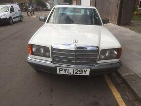 Mercedes 280SE W126 1983 Low Mileage 49,735