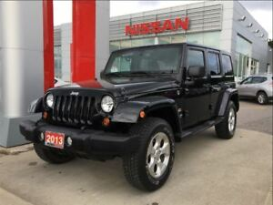 2013 Jeep WRANGLER UNLIMITED Sahara 4X4, navigation, Uconnect