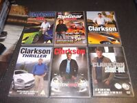 5 Clarkson DVD's and 1 Top Gear DVD