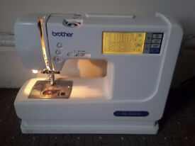 Brother PE-300S Sewing Machine + Carry Case Complete
