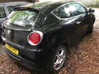 Alfa Romeo mito 2009 black 1.4 TB 155 bhp