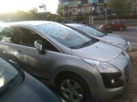 PEUGEOT 3008 comes with full mot 3 months warranty good condition any more info 01482447848