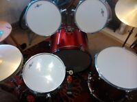Gear4Music 5 piece drum kit in great condition