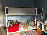 IKEA Vitval bunk bed and 2 malfors mattresses
