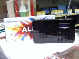 ALBA DAB/FM RADIO, FULL 6 MONTH'S WARRANTY