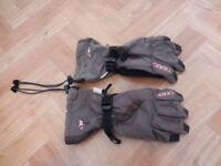 Women's O'Neill snowboard/ski gloves size XS