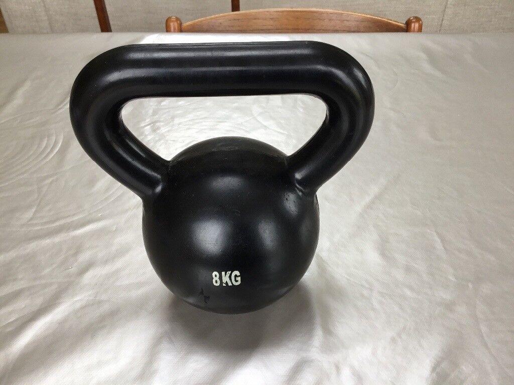 8 kg kettle bell