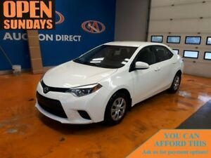 2014 Toyota Corolla CE! FINANCE NOW!