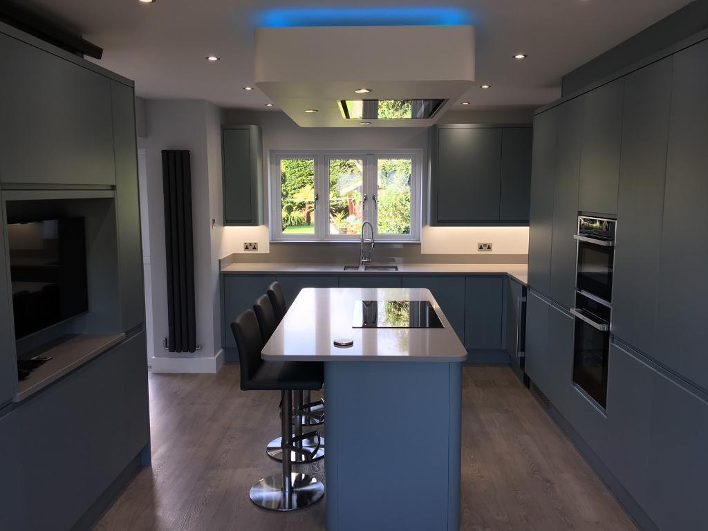 Stunning New Complete Solid Quartz Kitchen Worktop Upstands Cil S Etc Cost 5000 Bargain