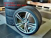 NEW 20 inch wheels set for BMW M5 F10 F12 F13 F06 M6 E60 M343 style rims UK Delivery