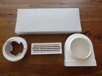 Cooker hood venting kit