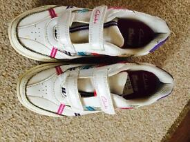 Girls shoes size 12f from clarks