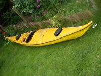 Knordkapp HM 16.5 foot sea kayak sunshine yellow