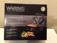 ***Brand New*** Waring WOSM2U Sandwich Toaster/Maker - Bargain Cheap Price !