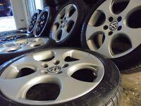 "GENUINE 17"" GTI MONZA BBS ALLOYS wheels 5X112 audi vw golf mk5 tt a3 seat passat skoda a4 a8 a5 rs"