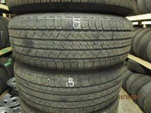 235/70R16 SET OF 4 USED MICHELIN ALL SEASON TIRES