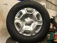 Ford ranger 17 inch alloy wheels & tyres