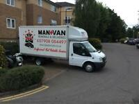 Man and Van Removals clearance and Deliveries nationwide and Europe removals Barking-Dagenham-Ilford