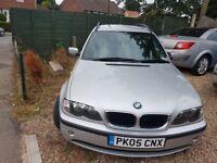 BMW 3 E46 ESTATE 2005 2.0 D 12 MONTHS MOT