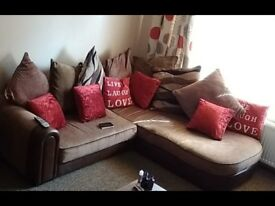 Reluctant sale of an Immaculate corner sofa