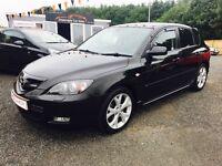 2008 Mazda 3 Sport, 12 Months Warranty, 2 years FREE MOT, 2 years Servicing, £80 p/month Finance