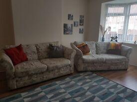 2x2seaters Next sofa's