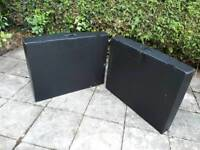 8 Panel display stand with aluminium frame and carry cases