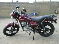 ZONTES TIGER 125CC LEARNER LEGAL 2016 (VERY LOW MILAGE)
