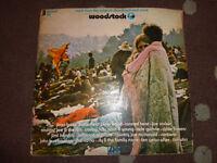 Rare Original Woodstock 3 x Album set 1970s on Atlantic UK Pressing