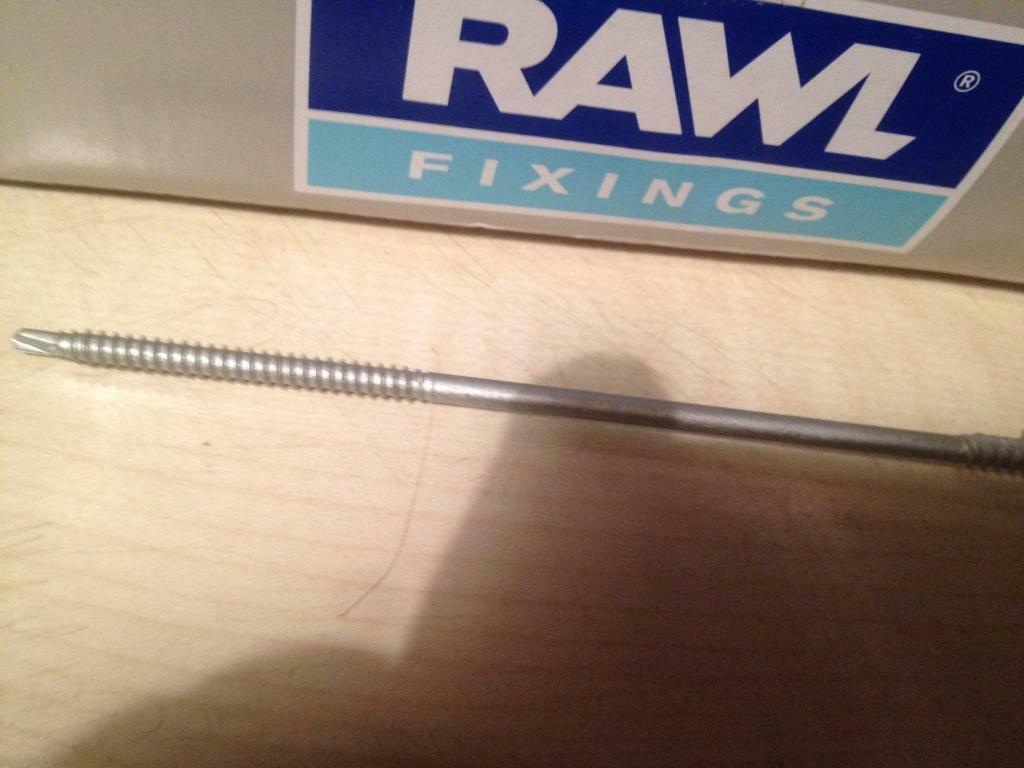 Screws new 10boxs =1000,4.8-140mm