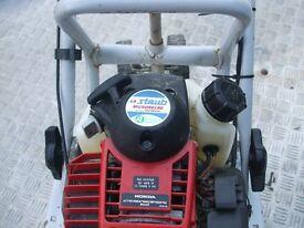 Staub Rotorvator Petrol Honda engined is a light weight machine