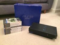 PlayStation 2 console and games bundle