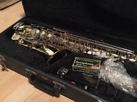 Warwick alto Saxaphone with case and gadgets