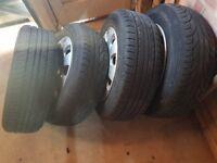 Volkswagen touran tyres