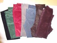 Corduroy Trousers - Size 14