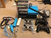 Playstation 3 + wii console bundle