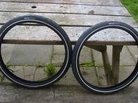 pair of new brompton tyres