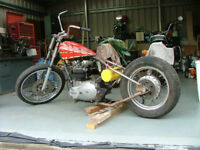 Triumph T140 Chop Project
